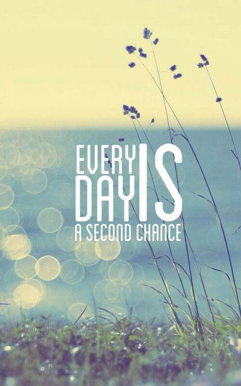 Cada día es una nueva oportunidad!