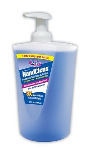 Handclens Alcohol Free 2 In 1 Foaming Sanitizer Alcohol Free
