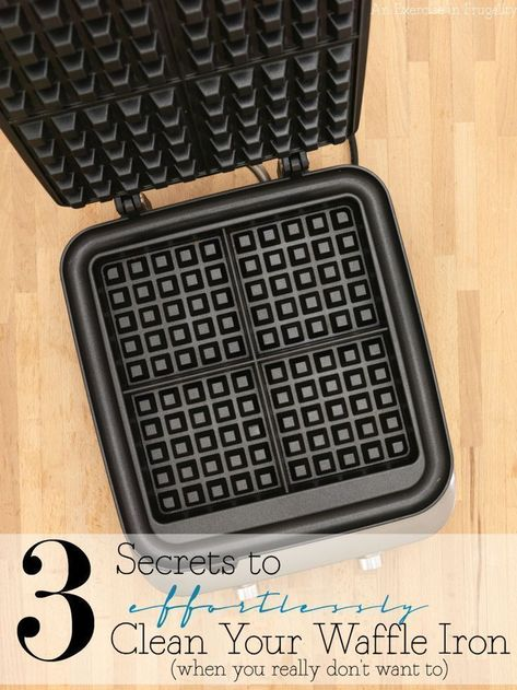 How to Clean Your Waffle Iron Effortlessly! - An Exercise In Frugality