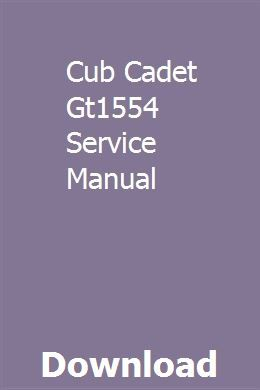 Cub Cadet Gt1554 Wiring Diagram from i.pinimg.com