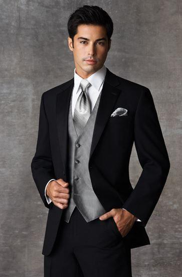 Prom Tuxedos - Black Prom Tuxedos 2014 2015 | Fashion | Pinterest ...