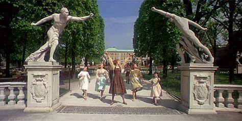 The Sound of Music in Salzburg: Mirabell Gardens
