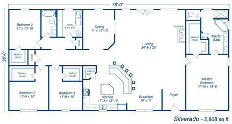 10 Amazing Barndominium Floor Plans For Your Best Home Archlux Net Metal Building House Plans Barndominium Floor Plans Barn Homes Floor Plans