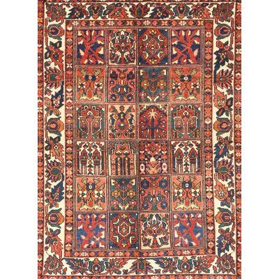 Bloomsbury Market Traditional Mehroon Black Blue Area Rug