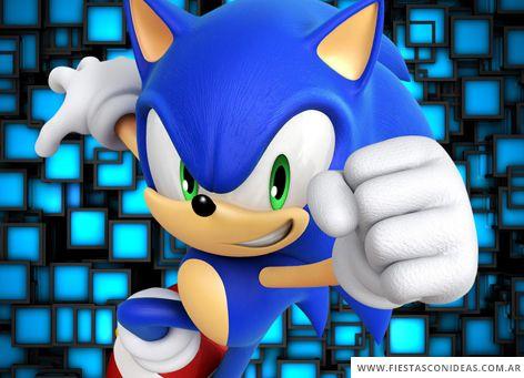 Tarjeta De Cumpleaños De Sonic The Hedgehog En 2019