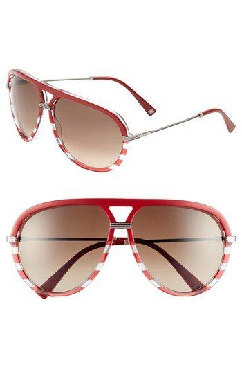 78b9a0aa9232 Gucci Oversized Rimless Butterfly Sunglasses