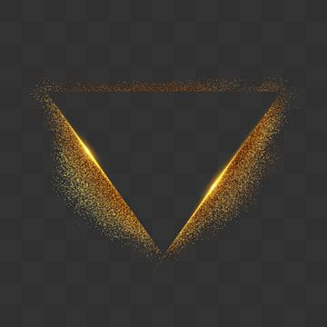 Golden Dust Particles Triangle Border Golden Granules Triangle Png Transparent Clipart Image And Psd File For Free Download Geometric Background Halo Backgrounds Flower Drawing