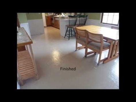 Painted Vinyl Floor YouTube BEST PRODUCTS LONG LASTING - Vinyl flooring youtube