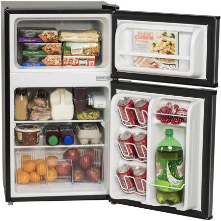 Best Buy Ge 14 6 Cu Ft Top Freezer Refrigerator Black Gte15cthrbb