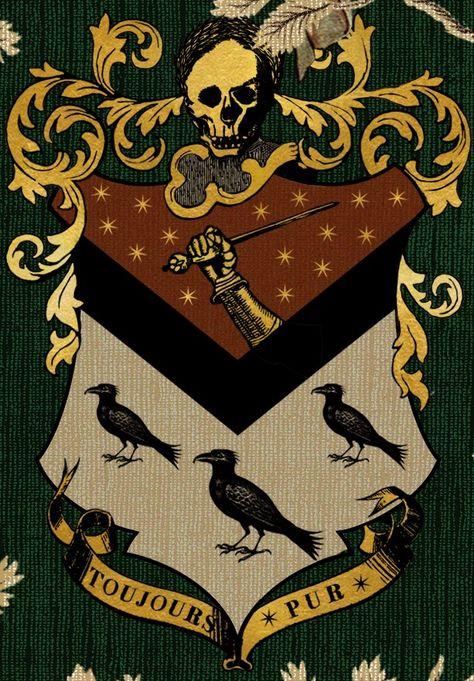 House Of Black Harry Potter Poster Harry Potter Family Tree Harry Potter Aesthetic