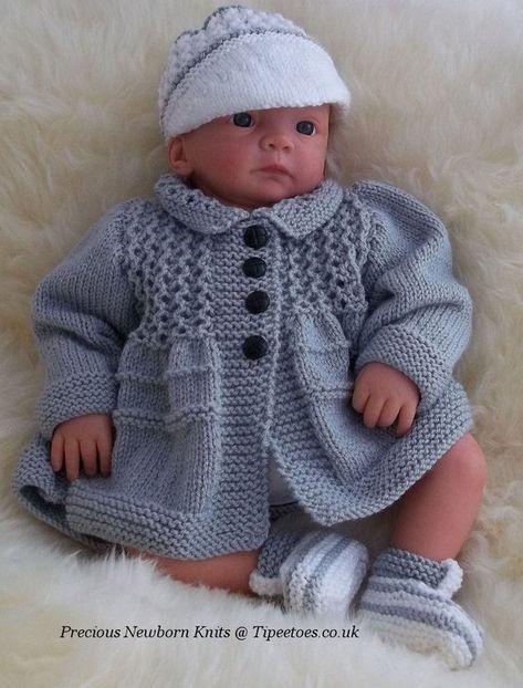 36f646623 Baby Knitting Pattern - Download PDF Knitting Pattern - Baby Boys ...