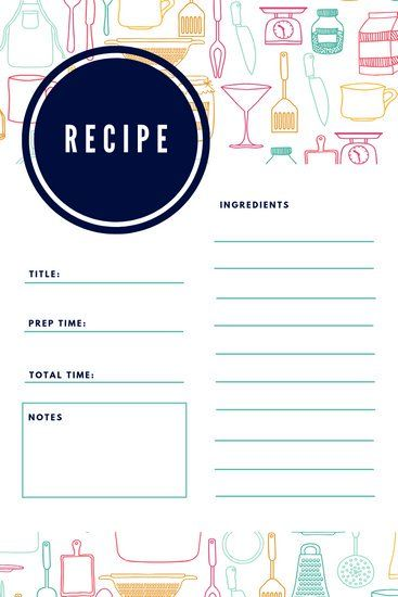 Customize 8 718 Recipe Card Templates Online Canva Recipe Cards Template Recipe Cards Printable Recipe Cards