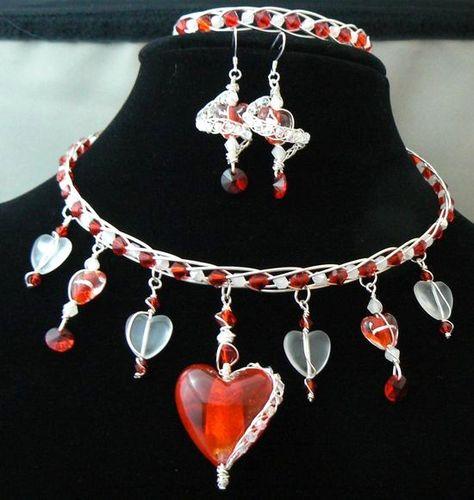 """Amber Hefner - """"Crystal Heart Set"""""""