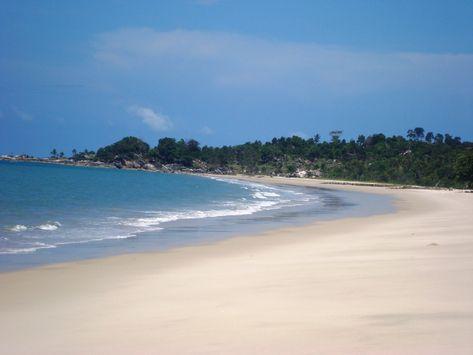 Pantai (Praia) Matras, Bangka-Belitung di 2019 | Pantai ...