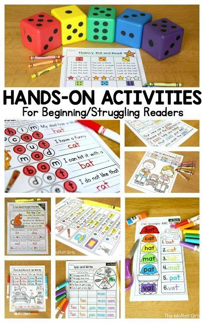 How To Teach Cvc Word Families Cvc Word Families Teaching Reading Kindergarten Reading