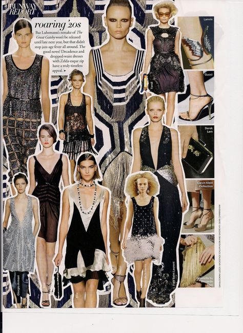 This season the 20's are definitely a big style influence!
