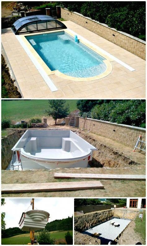 How To Installation Swimming Pool 12 Low Budget Diy Swimming Pool Tutorials Diy Crafts Diyhomedeco Diy Swimming Pool Swimming Pool Designs Backyard Pool
