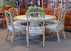 Fabulous Ferguson Copeland Dining Set Consisting Of Round Table