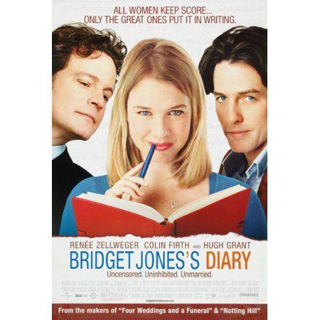Bridget Jones Diary Movie Poster Mini Poster 11inx17in 11x17 Poster Walmart Com Bridget Jones Diary Movie Bridget Jones Diary Bridget Jones