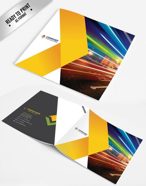Free Brochure Templates Vector Download  Free Vector