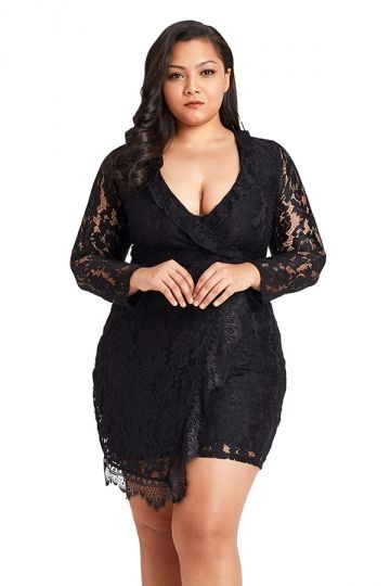 47++ Plus size long sleeve dresses ideas ideas