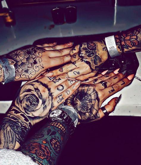 Hand Tattoo Art