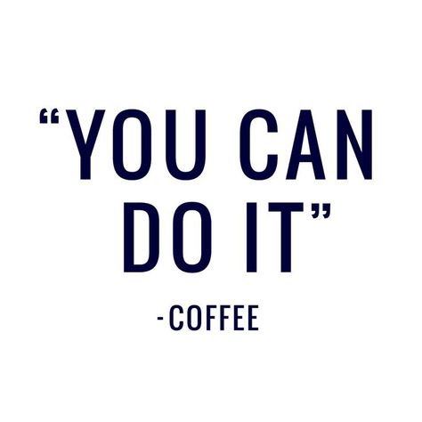 Do what the #coffee tells you. #MotivationMonday