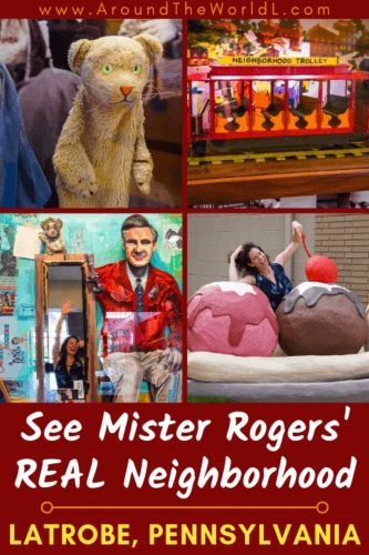 Latrobe Pa Tour Mister Rogers Actual Neighborhood Around The World L With Images The Neighbourhood Mr Rogers Latrobe