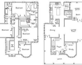 Two Storey House Plans Distinctive Homes Double Storey House Plans Modern Two Storey House Designs 2 Storey House Floor Plans In 2021 Floor Plans House Plans Two Storey House Plans