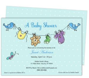 Baby Shower Email Invitations With