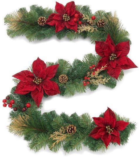 gold Christmas Gold Glitter Cedar...