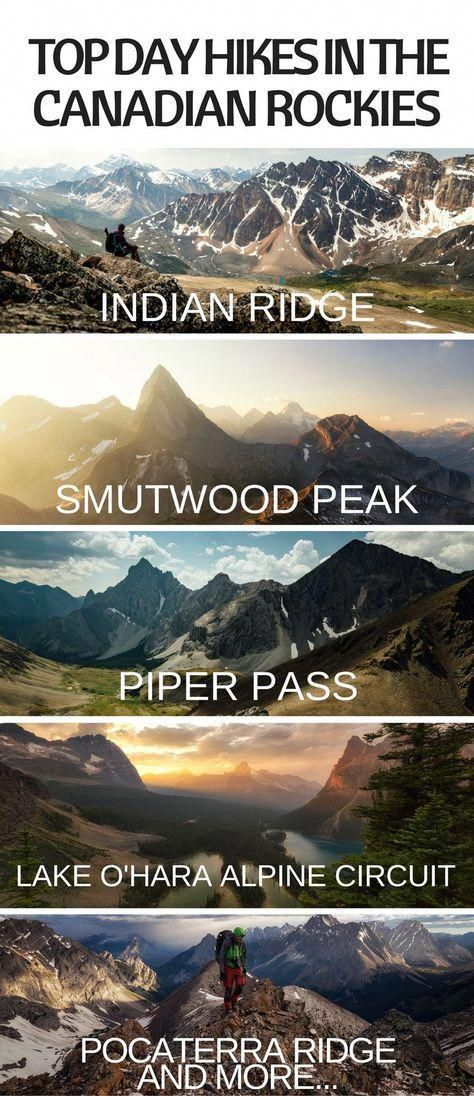 Ten Of My Personal Favorite Day Hikes In The Canadian Rockies Canada Road Trip Canada Travel Places To Travel