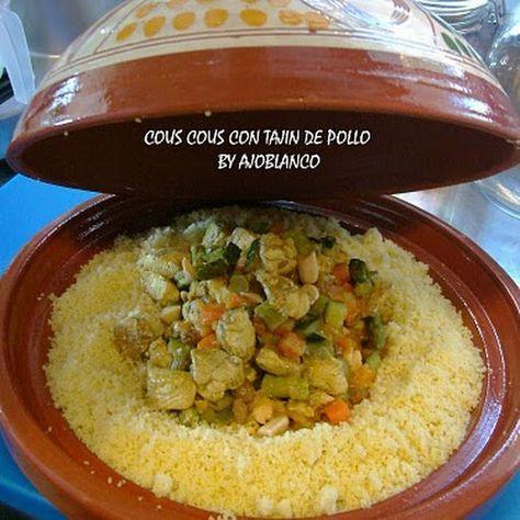 Cous Cous De Verduras Y Pollo Recetas Marroquíes Recetas árabes Cocina Marroquí
