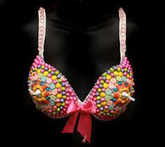 Bra Decorating Contest Ideas Participants And The Name Of Their