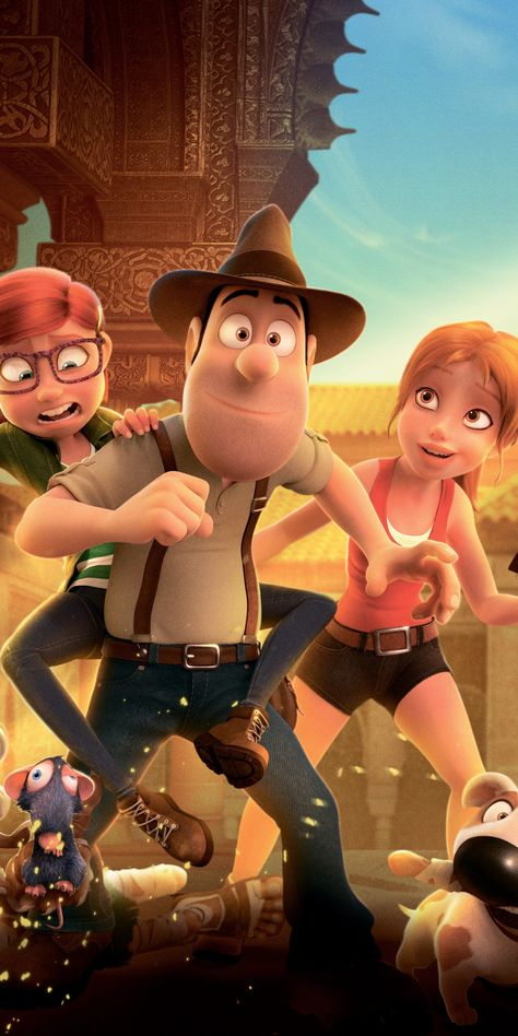 Art, Tad the Lost Explorer and the Secret of King Midas, movie, 1080x2160 wallpaper