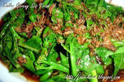 Hasue I Love My Life Kailan Goreng Sos Tiram Sayuran
