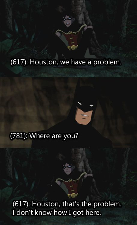 texts that the young justice league probably sent.