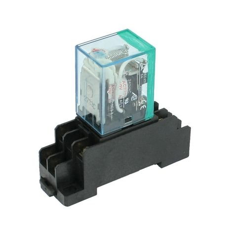 DHDL-220/240V AC Coil DPDT Power Relay MY2NJ 8 Pin w Socket Base. Yesterday's price: US $2.49 (2.19 EUR). Today's price (January 17, 2019): US $2.09 (1.86 EUR). Discount: 16%. #Electrical #Equipment #Supplies #socket #coil