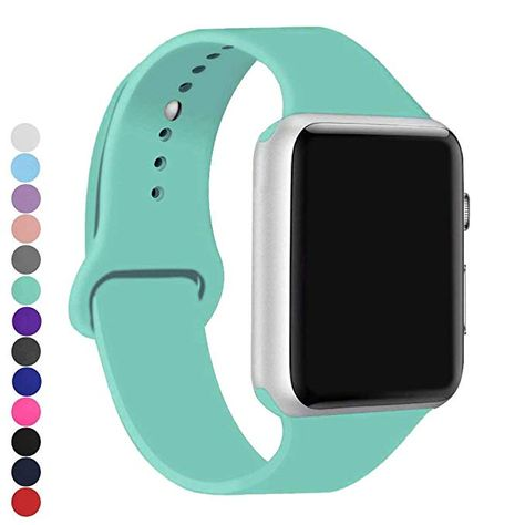 A8miss Le Watch Band Silicone Replacement Iwatch Bands Series 1 2 3 38mm S M Mint Green