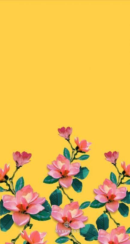 Flowers Fondos Frases 42 Best Ideas Teal Wallpaper Iphone Flower Wallpaper Floral Wallpaper Aesthetic yellow flower wallpaper iphone