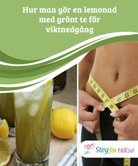 grönt te vikt