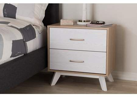 Home With Images 2 Drawer Nightstand Drawer Nightstand Mid Century Nightstand