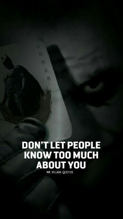Don't let people know too much about you! | #1stInHealth #Motivation #Quotes #Inspiration #Success