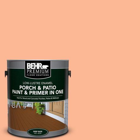 Behr Premium 1 Gal P200 4 Carotene Low Lustre Interior Exterior