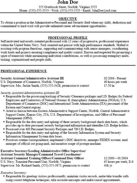 Acting Resume Sample Free -    wwwresumecareerinfo acting - duty officer sample resume