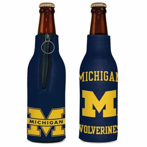 NCAA Western Michigan Broncos Black 12oz Bottle Holder