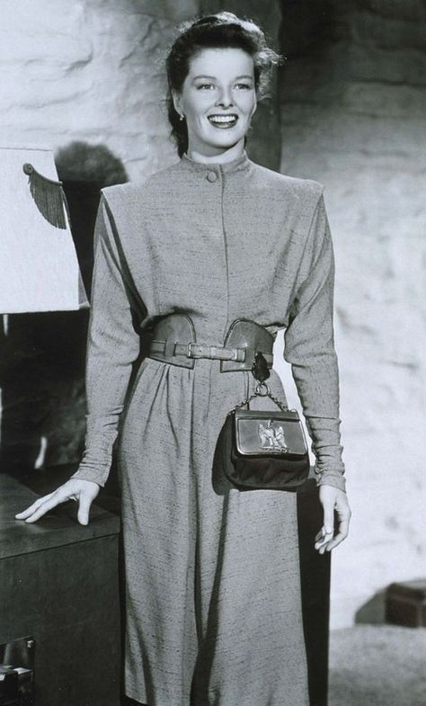Katharine Hepburn - The Ultimate Roundup Of America's Top Fashion Icons via WhoWhatWear