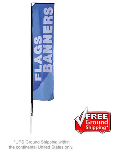 Mamba Outdoor Portable Flag Stands Flag Stand Outdoor Banner Stands
