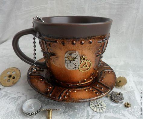 dd0179f26b6 Купить или заказать Кружка в стиле steampunk (стимпанк) в интернет-магазине  на Ярмарке