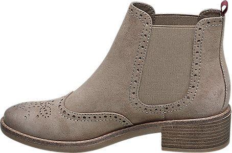 Graceland Ladies' Chelsea Boots Beige   Deichmann